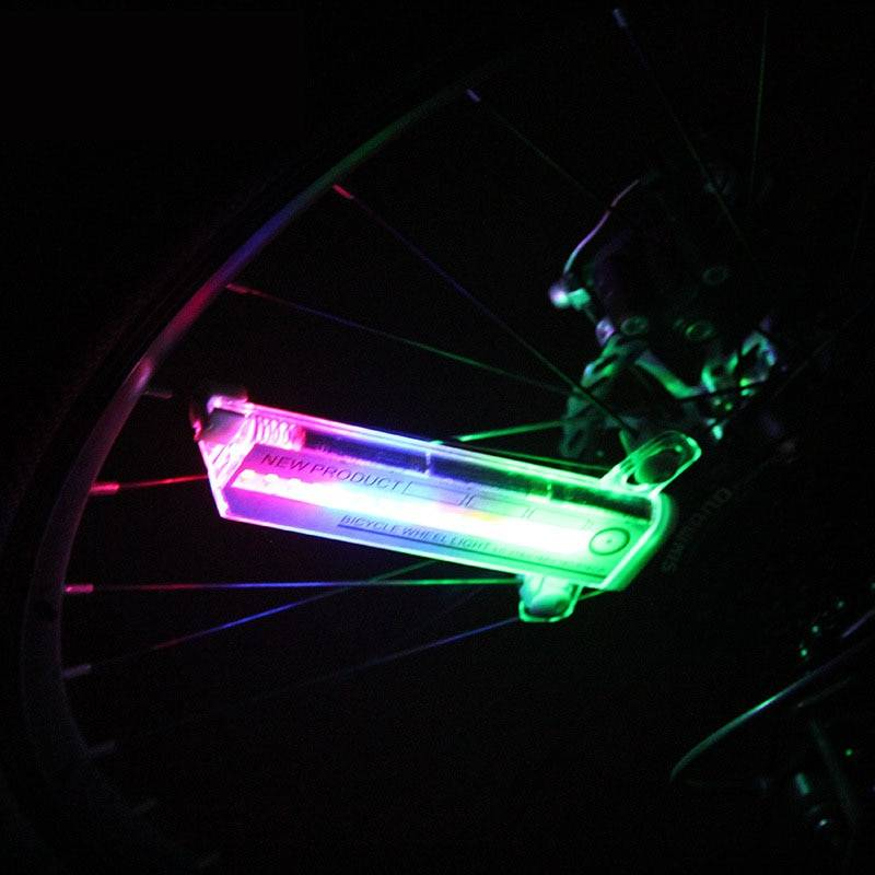 Bicycle Wheel Flashing Light Sports & Outdoors Outdoor Tools & Accessories