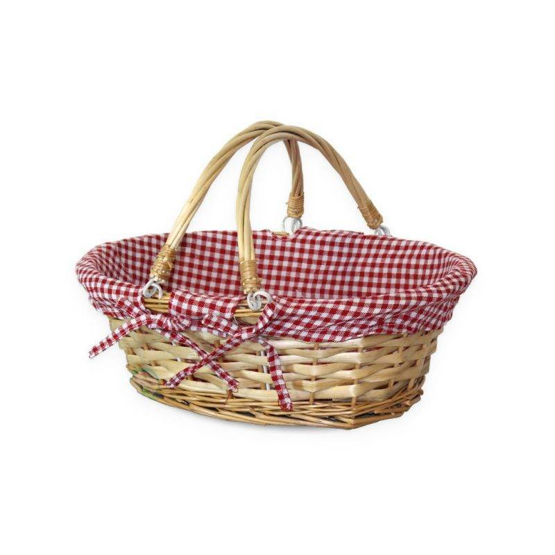 Oval Willow Basket Home Goods Kitchen & Dining