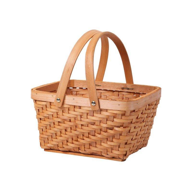 Rectangular Chip Picnic Basket Home Goods Kitchen & Dining