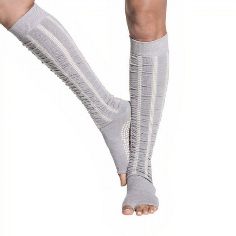 Knee High Socks In Grey Sports & Outdoors Leggings