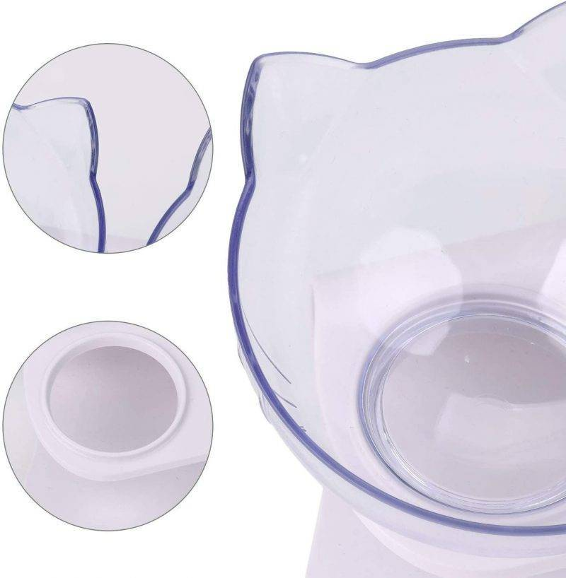 Non-Slip Cat Bowls with Raised Stand Pet Supplies Feeding & Watering