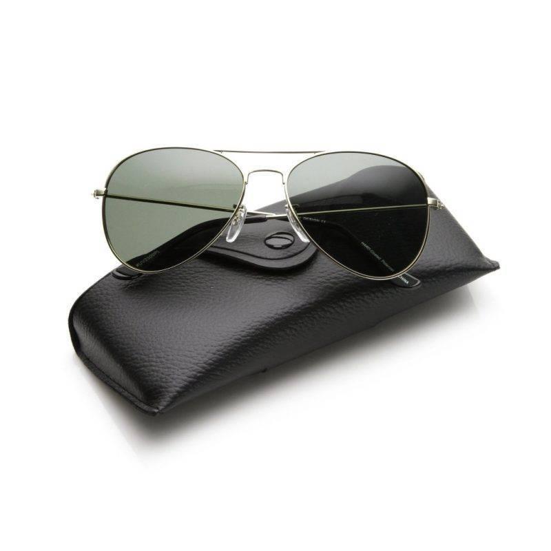 Polarized Gunmetal Aviator Sunglasses Fashion Accessories Health & Beauty